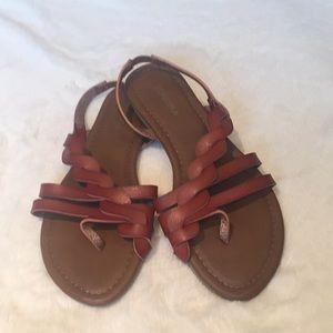 Sonoma Brown Toe Sandals